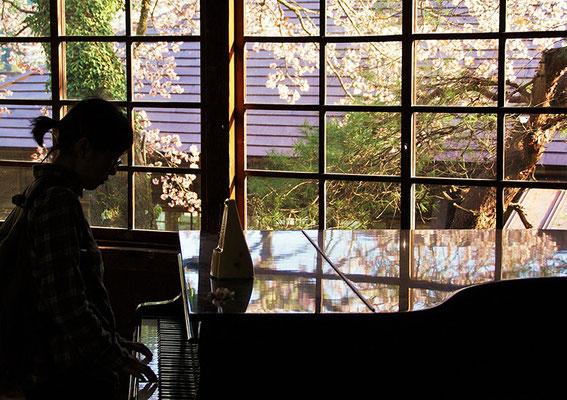 〈s20-149〉糸賀一典さん:ぴあのがひきたくて・・・。/4月9日(木)/茨城県大子町