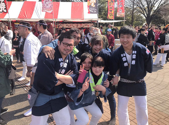 〈GP-19002〉 浦安當穆 坂本真実さん:第9回 東日本大震災復興祭,舎人公園・2019年3月17日