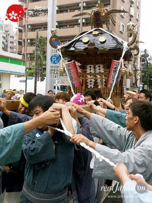 2017年 横浜開港祭 みこしコラボレーション「若勇會」YH17_012