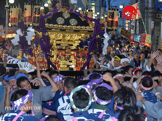 〈八重垣神社祇園祭〉神社神輿渡御 @2017.08.04 YEGK17_009