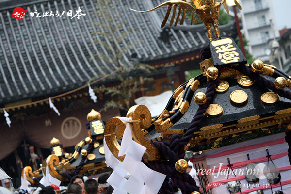 〈三社祭〉本社神輿宮出し @2009.05.17