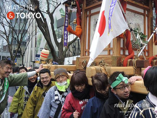 〈建国祭 2019.2.11〉萬歳會二の会 ©real Japan'on : kks19-005