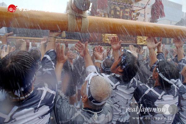 〈富岡八幡宮例大祭〉神輿連合渡御 三十三番: 中木場 @2014.08.17
