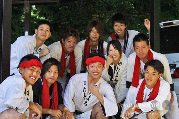 田町さん。1年に1回、祭りの日に帰ってきます。必ず。担いで、楽しんで、はじめて参加しても楽しめるのが祭りのも魅力かな。