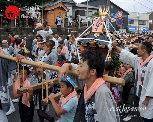 2017年度「浜降祭」柳島 八幡宮・子供神輿 2017年7月17日 HMO17_006