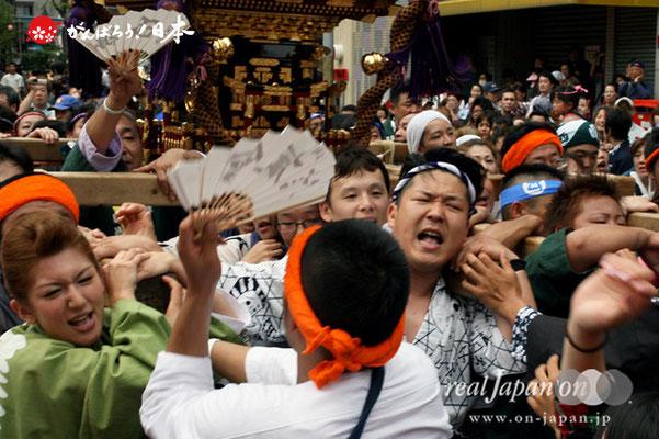浦安三社祭〈西組〉@2012.06.17