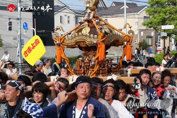 浦安三社祭〈さまよ会〉@2012.06.17