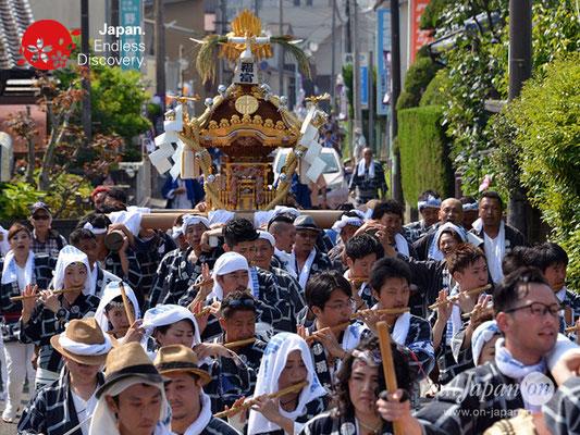 〈八重垣神社祇園祭〉神輿連合渡御:福富町区 @2018.08.05 YEGK18_014