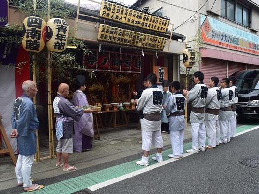 北澤八幡神社例大祭_001 ©北澤八幡秋祭り実行委員会