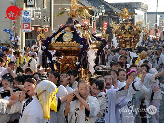 〈八重垣神社祇園祭〉神輿連合渡御:田町区 @2018.08.05 YEGK18_037