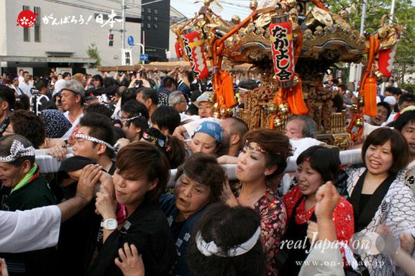 浦安三社祭〈なかよし会〉@2012.06.17