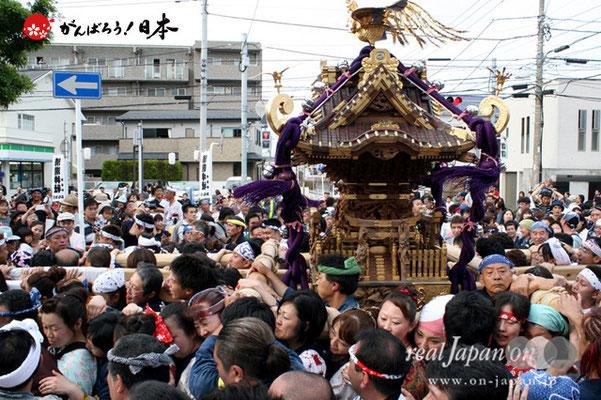 浦安三社祭〈清龍神社本社神輿2〉@2012.06.17