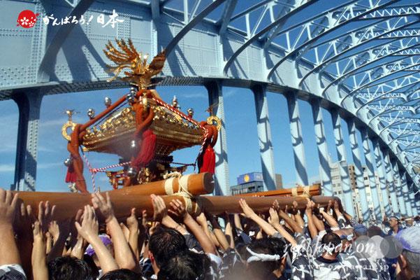 〈富岡八幡宮例大祭〉神輿連合渡御 五十三番: 中木場 @2012.08.12   写真ナンバー【thg-001】