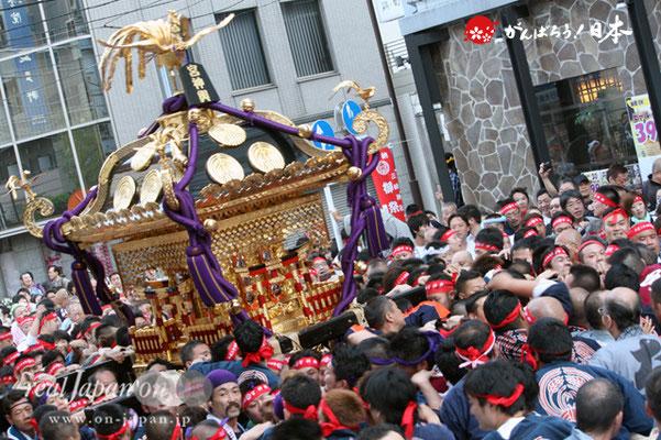 〈三崎稲荷神社例大祭〉本社神輿渡御 @2012.05.05