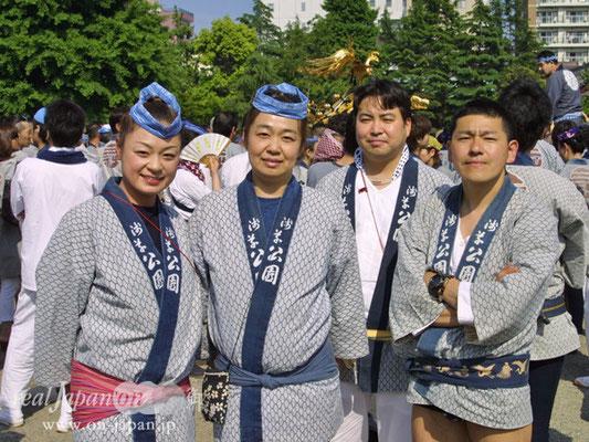 浅草公園さん。祭りは小さいころから日常にあったよね。ご飯を食べることと一緒だよ一緒。