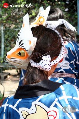 〈王子神社例大祭〉王子 狐囃子連 @2012.08.05   写真ナンバー【ouj-001】