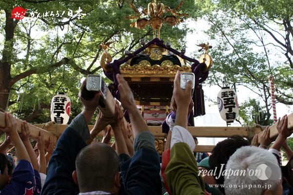 〈王子神社例大祭〉王子五丁目町会 @2012.08.05