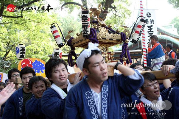 〈王子神社例大祭〉岸町二丁目町会 @2012.08.05