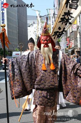 〈椙森神社例大祭〉先導行列 @2012.05.11