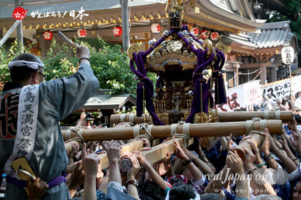 湯島天満宮例大祭〈本三南部会〉宮入参拝渡御 @2012.05.27