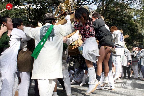 〈建国祭〉神輿パレード @2012.02.11