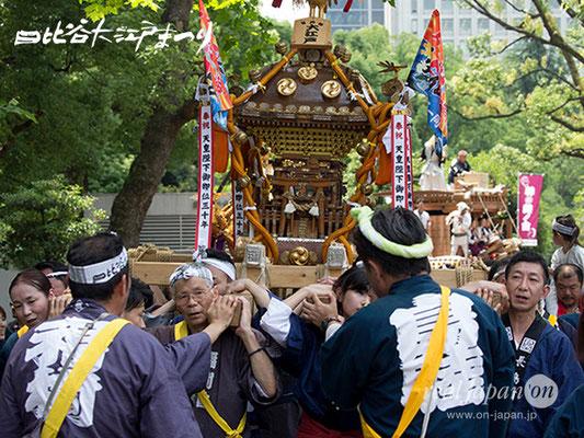 日比谷大江戸まつり【お神輿: 福樹會】2018.06.09 sat