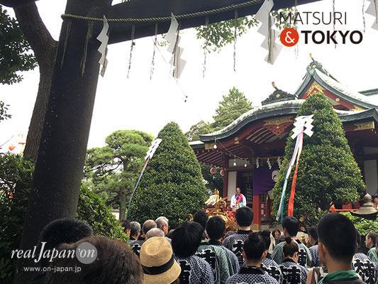 東大島神社御祭礼 2017年8月6日 hojm17_005