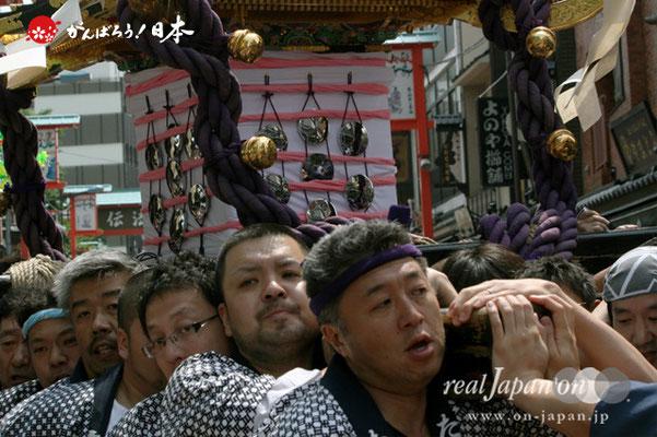 〈三社祭〉三之宮神輿・浅草中央町会渡御 @2012.05.20