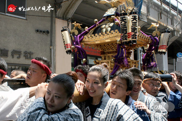 湯島天満宮例大祭〈天三町会〉@2012.05.27