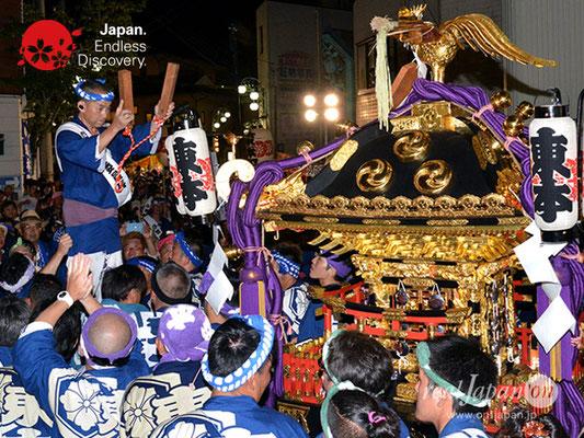 〈八重垣神社祇園祭〉神社神輿還御:東本町区 @2018.08.05 YEGK18_041