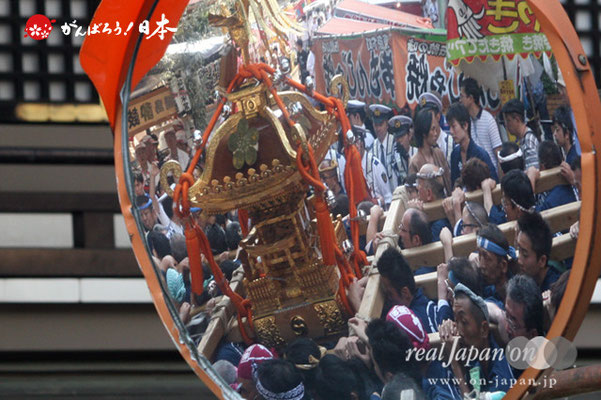 湯島天満宮例大祭〈松住町会〉宮入道中 @2012.05.27