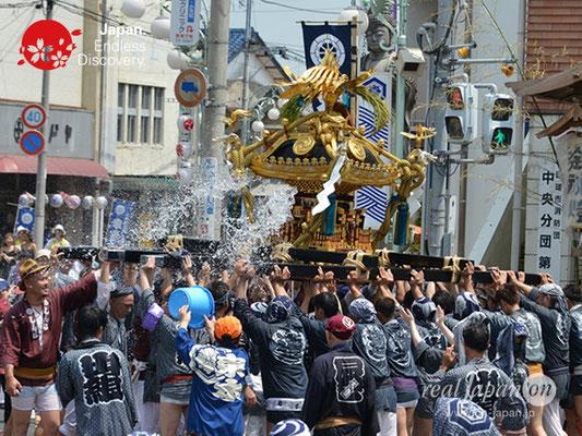〈八重垣神社祇園祭〉神輿連合渡御:上出羽区 @2018.08.05 YEGK18_019