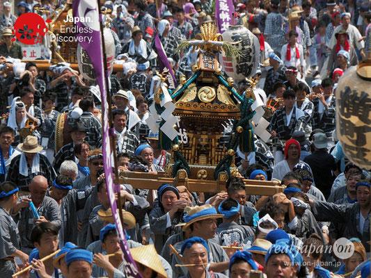 〈八重垣神社祇園祭〉神輿連合渡御:横町区 @2018.08.05 YEGK18_025