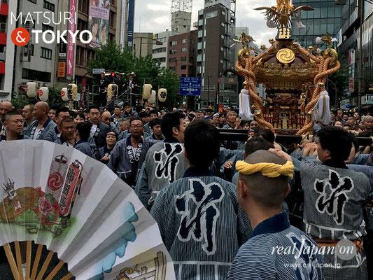 〈神田祭 2017.5.14〉神田中央連合・小川町北部四ヶ町  ©real Japan'on -knd17-005