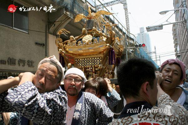湯島天満宮例大祭〈新花会〉@2012.05.27
