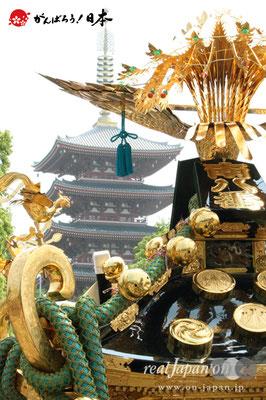 〈三社祭〉各町連合渡御 @2008.05.17   写真ナンバー【snj-001】