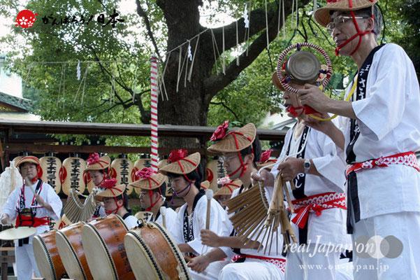 〈王子神社例大祭〉王子 ささら囃子 @2012.08.05