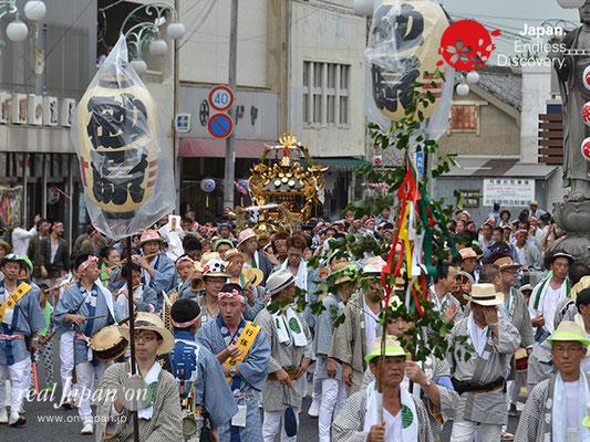 〈八重垣神社祇園祭〉砂原町区 @2017.08.05 YEGK17_021