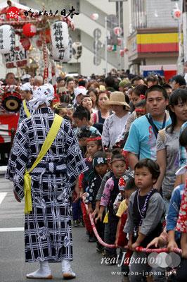 浦安三社祭〈稲荷神社・山車〉@2012.06.17