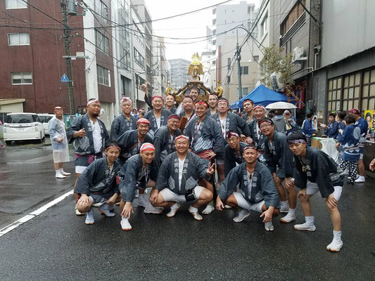 〈GP-17014〉 横尾武士さん:2017年 牛嶋神社大祭・2017年9月17日