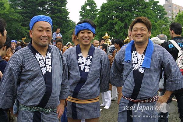 梢會さん:三社祭は数え切れず参加。祭はもう義務かな。その他、関東一円の祭に参加します。川崎・有馬神社、茨城・下館の祭もオススメ。