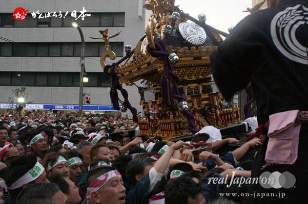 〈下谷祭〉本社神輿渡御(浅草通り・宮入道中)@2012.05.13