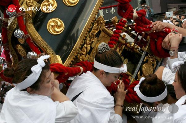 素盞雄神社・天王祭〈本社中神輿・宮入道中〉 @2012.06.03
