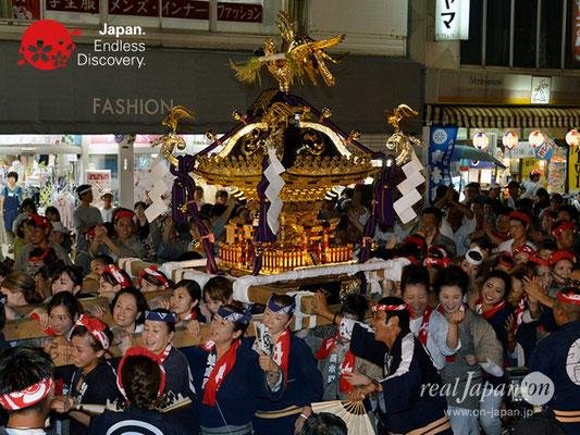 〈八重垣神社祇園祭〉女神輿連合渡御:西本町区 @2018.08.04 YEGK18_010