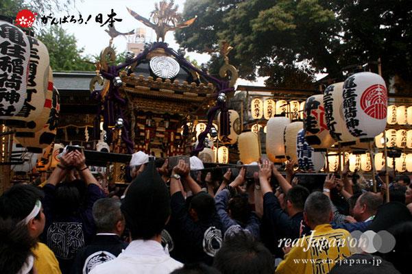 〈下谷祭〉本社神輿渡御(宮入)@2012.05.13