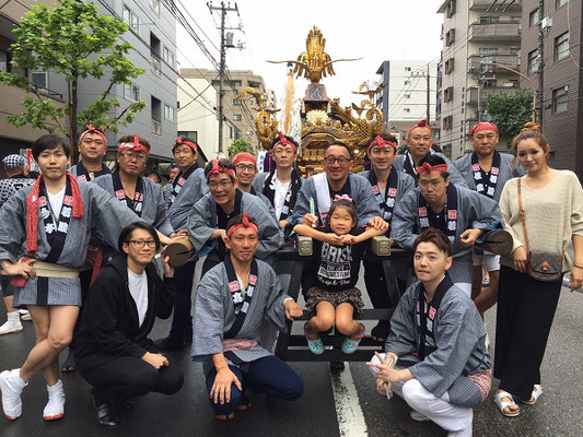 〈GP-17012〉 kohtomoさん:牛嶋神社大祭 本所四丁目・2017年9月17日