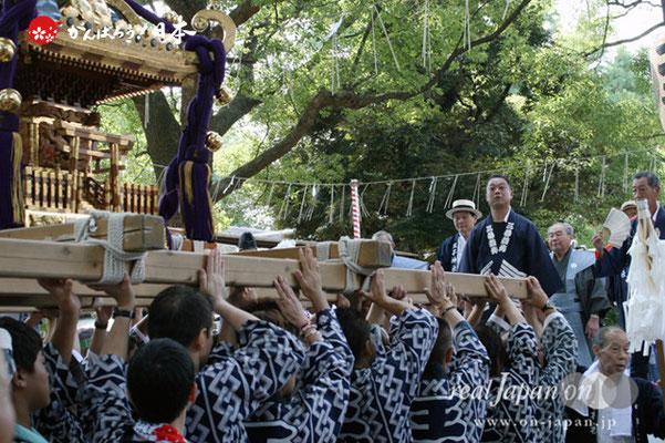 〈王子神社例大祭〉王子二丁目町会 @2012.08.05