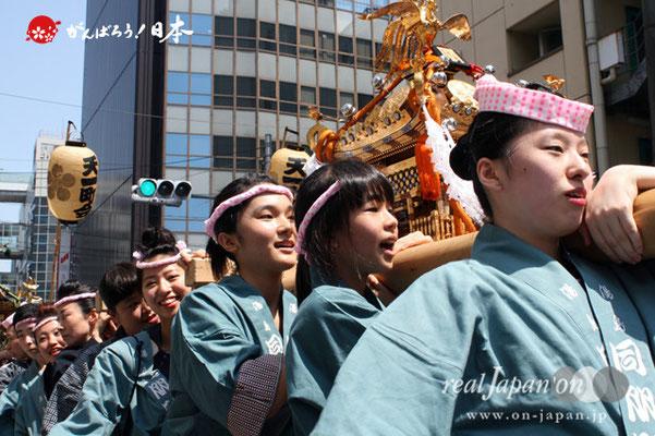 湯島天満宮例大祭〈同朋町会〉@2012.05.27