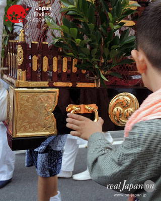 2017年度「浜降祭」柳島 八幡宮・子供神輿 2017年7月17日 HMO17_012