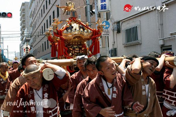 湯島天満宮例大祭〈本三金助町会〉@2012.05.27